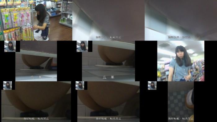 私服○K 和式トイレ