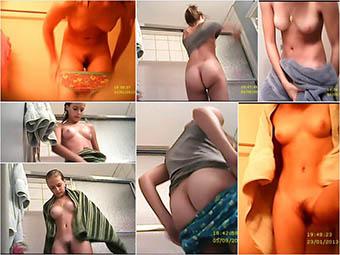 Emma Bathroom Voyeur 4-6