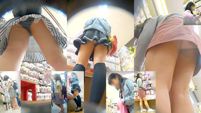スカートひら☆彡ひら☆彡ロリ★ロリ少女たちのパンチラ