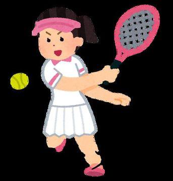 テニス大会トイレ71 2名収録!2人ともパンツが特徴的!!( ゚Д゚)