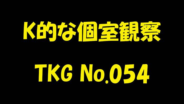 K的な個室観察 TKG No.054